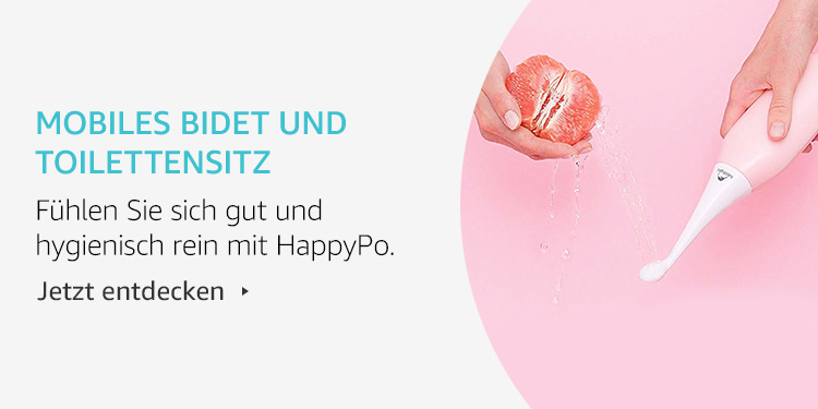 Amazon Launchpad: Mobiles Bidet und Toilettensitz