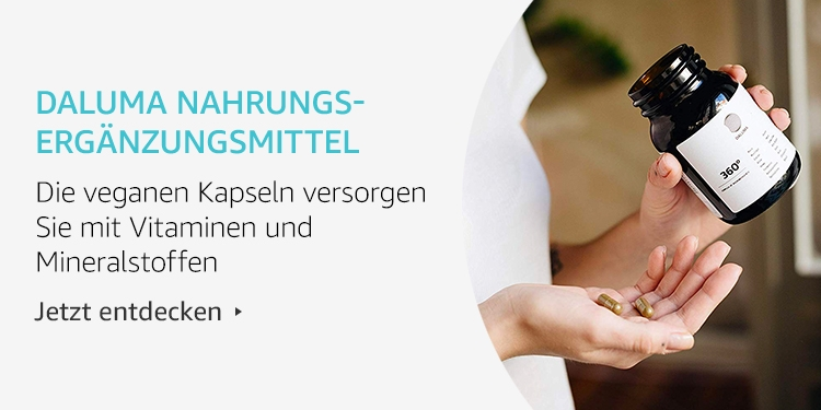 Amazon Launchpad Start-up-Produkte: Daluma Nahrungsergänzungsmittel