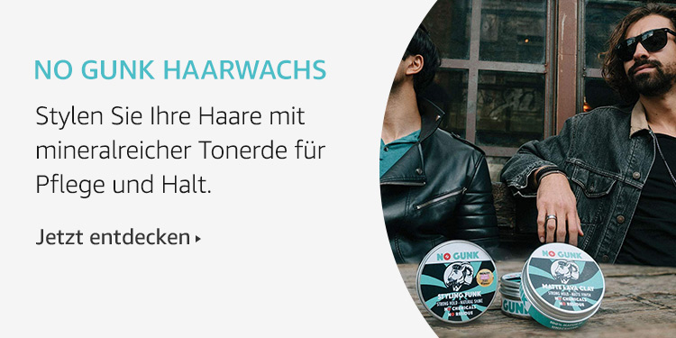 Amazon Launchpad:No Gunk Haarwachs