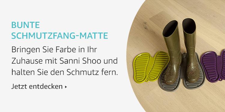 Bunte Schmutzfang-Matte