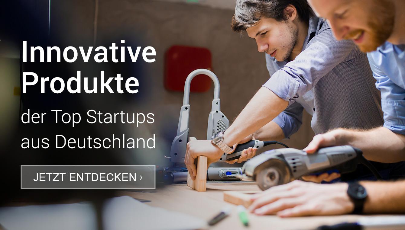 Innovative Produkte der Top Startups aus Deutschland.