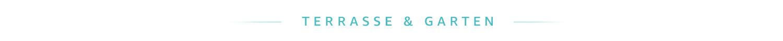 Start-up-Produkte für Terasse und Garten