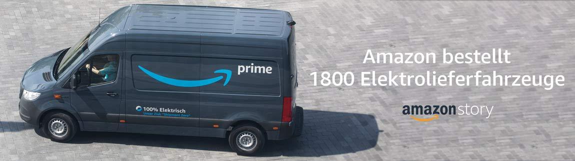 Amazon bestellt 1800 Elektrolieferfahrzeuge