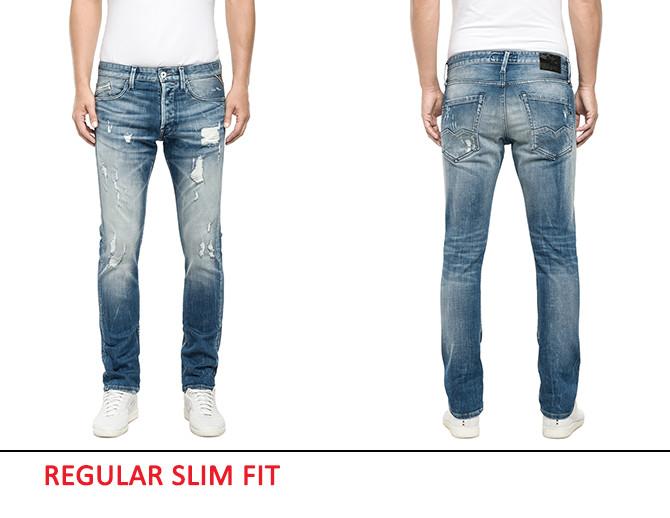 Regular Slim Fit