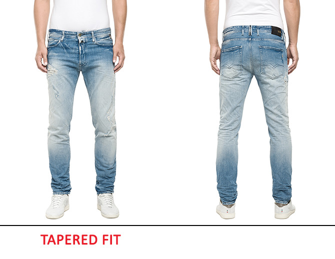 Tapered Fit