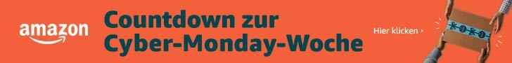 Cyber Monday Woche 2018 bei amazon.de - Countdownangebote