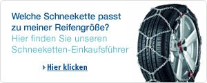 Schneeketten-Einkaufsführer
