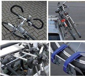 Dachlift Fahrradträger Evolution für 2 Fahrräder - Zusatzbild