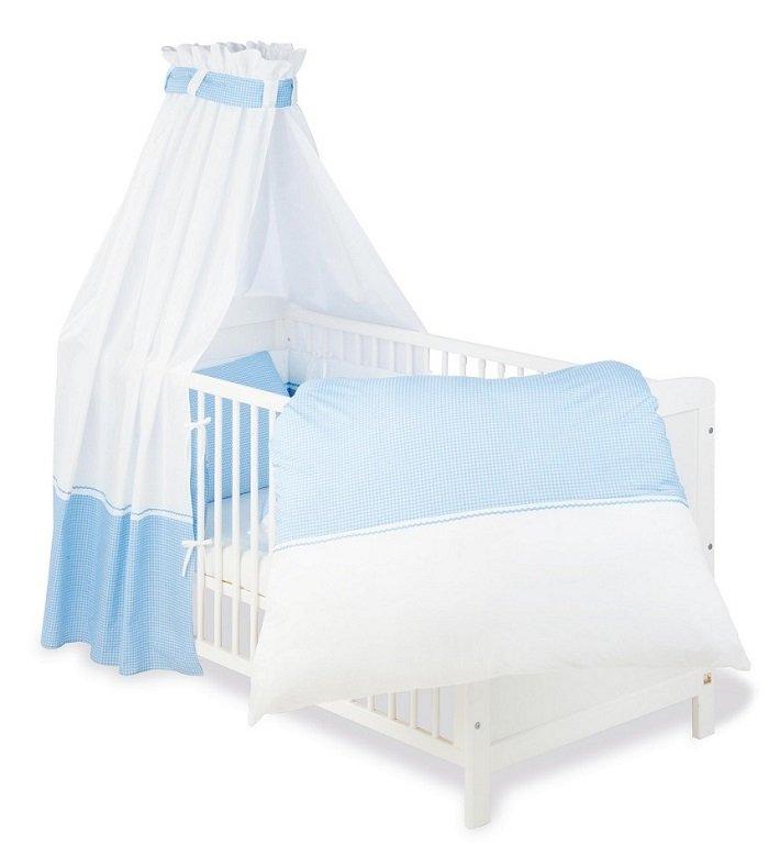 pinolino 603892 baby bettset 4 teilig passend f r gitterbetten der gr e 70 x 140 cm und. Black Bedroom Furniture Sets. Home Design Ideas