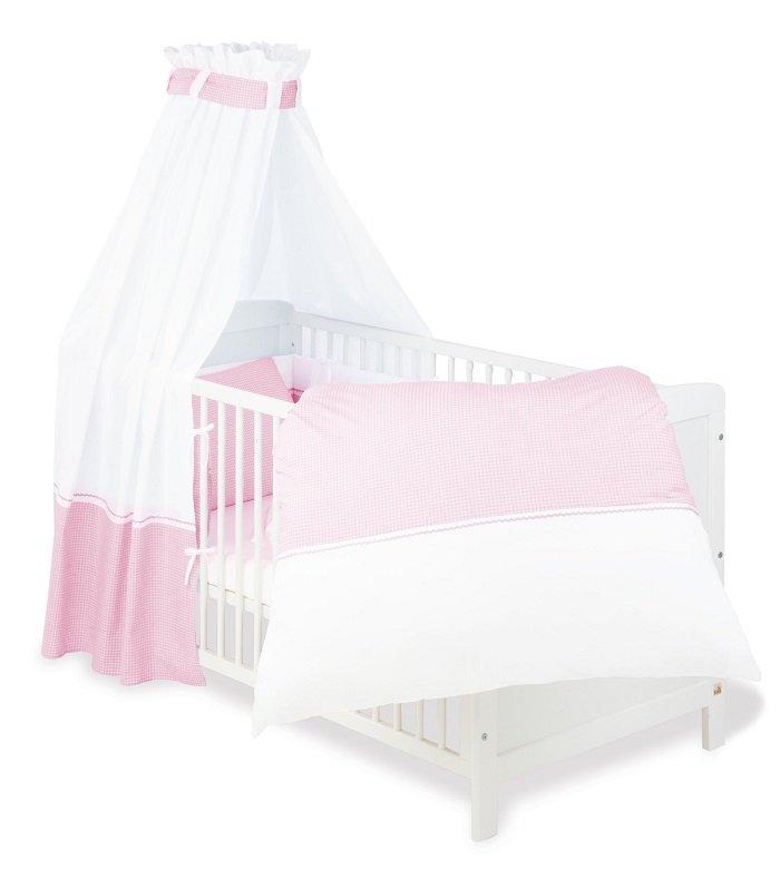 Pinolino 60389 Baby Bettset 4 Teilig 100 Baumwolle Für