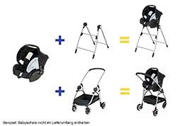safety 1st 19037220 connexion kinderwagensystem die. Black Bedroom Furniture Sets. Home Design Ideas