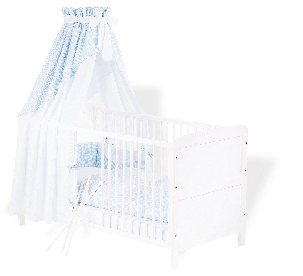 Kinderbett Viktoria Kiefer teilmassiv weiß lackiert