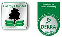 Energy efficient und DEKRA getestet