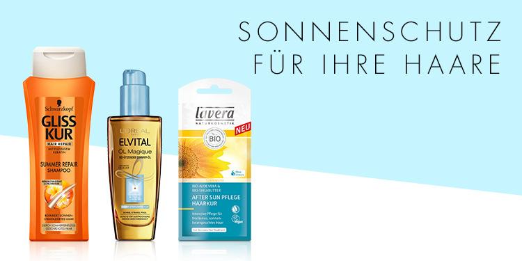 Sonnenschutz für Ihre Haare