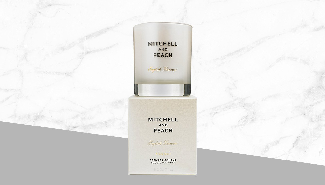 Mitchell and Peach Duftkerze Flora No.1