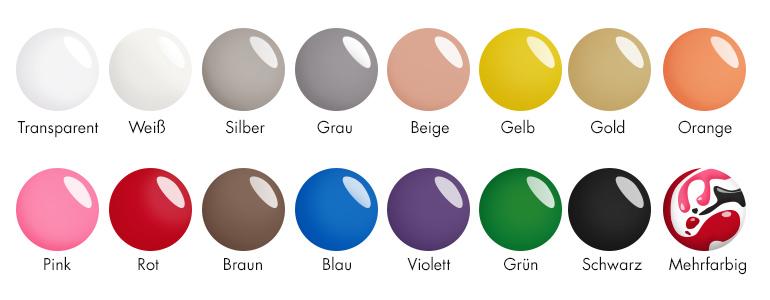 Nagellackfarben