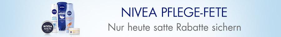 Angebot des Tages: Nivea Pflege-Fete - Riesenauswahl und bis zu 25% auf Nivea und andere Pflegemarken