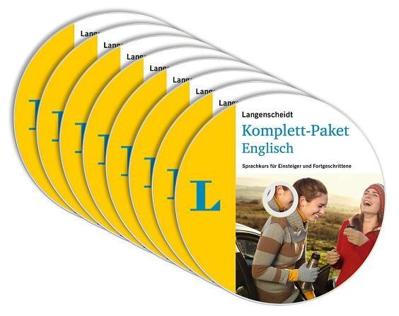 Langenscheidt Komplett-Paket Englisch, Audio-CDs