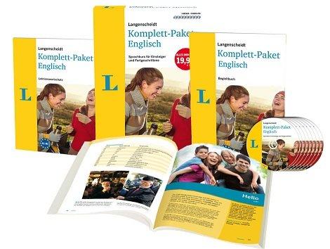 Langenscheidt Komplett-Paket Englisch mit allen Komponenten