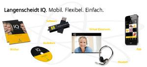 Langenscheidt IQ - mit intelligent vernetzten Modulen