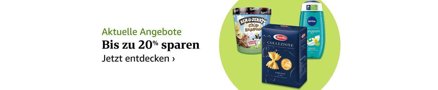 Entdecken Sie unsere Angebote: Lebensmittel & mehr online auf Amazon Fresh bestellen.