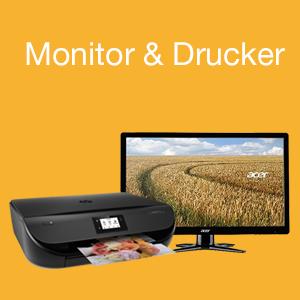 Monitor & Drucker