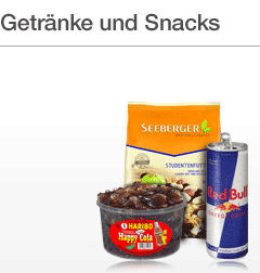 Snacks und mehr