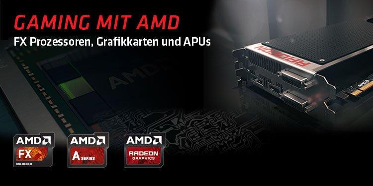 Gaming mit AMD
