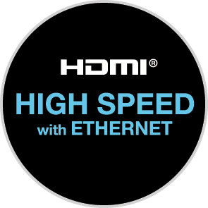 HDMI Highspeed with Ethernet