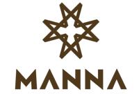 iPad im Case aufgestelltLogo der Marke Manna