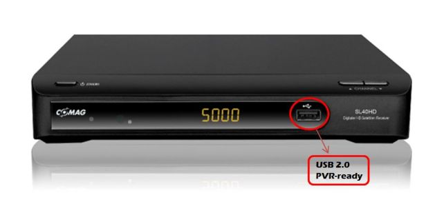 COMAG SL 40 HDTV Satelliten Receiver