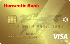 Hanseatic Bank GoldCard