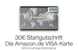 Amazon.de VISA Karte