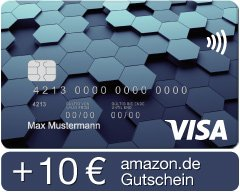 VISA KARTE AMAZON LBB