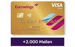Barclaycard Eurowings Kreditkarte Gold