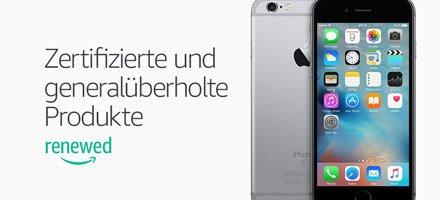 Zertifiziert und generalüberholt - iPhones mit Garantie