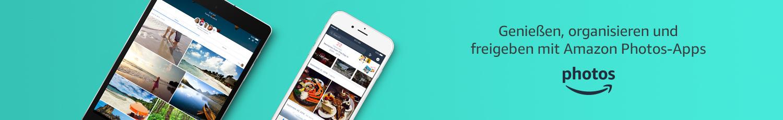 Genießen, organisieren und freigeben mit Amazon Photos-Apps