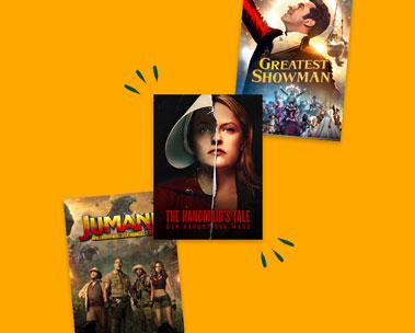 Bis zu -50% auf Filme und Serien