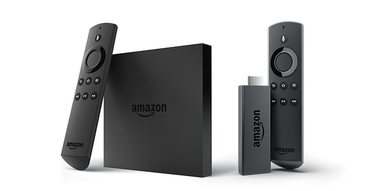 Image of FireTV and FireTV Stick