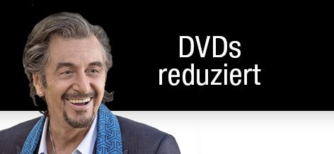 DVDs reduziert