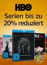 HBO Serien bis zu 20 Prozent reduziert