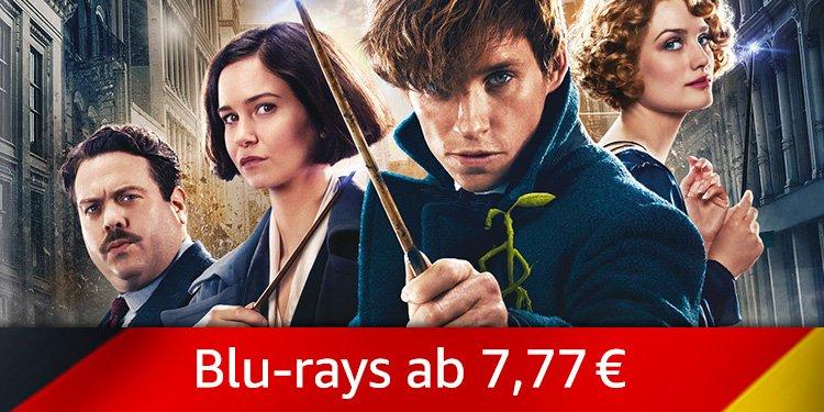 Blu-rays ab 7,77 EUR