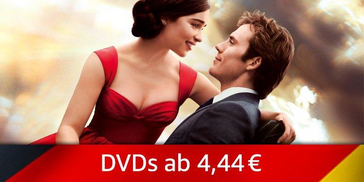 DVDs ab 4,44 EUR