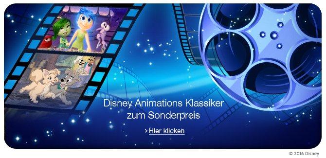 Disney Animations Klassiker zum Sonderpreis