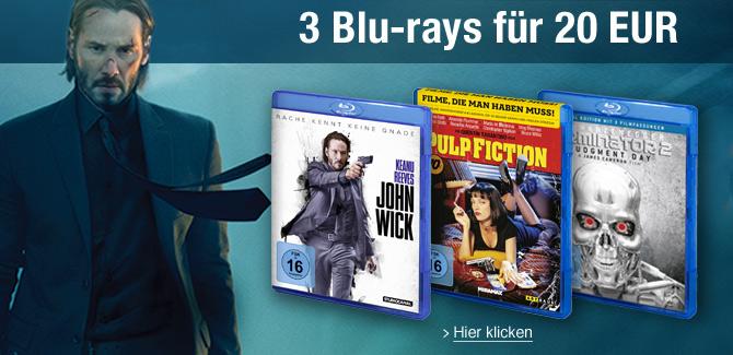 3 für 2 Blu-rays