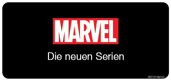 Marvel die neuen Serien