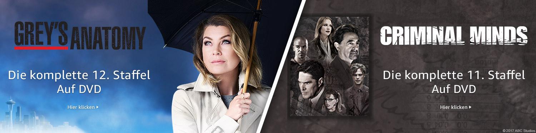Greys Anatomy und Criminal Minds