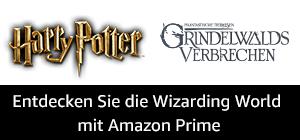 Pünktlich zum Kinostart von Phantastische Fantastische Tierwesen: Grindelwalds Verbrechen 2 gibt es erstmalig alle Harry Potter-Filme zum grenzenlosen Streamen bei Prime Video. Bei Prime Reading findest du außerdem ab sofort J.K. Rowlings Originaldrehbuch zum Film Phantastische Tierwesen und wo sie zu finden sind (Band 1) zum kostenlosen Download. Diese und weitere zauberhafte Überraschungen findest du hier.