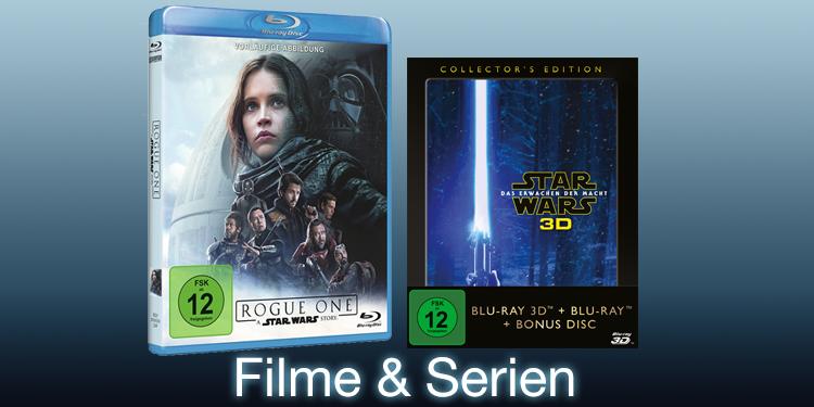 Star Wars Filme und Serien
