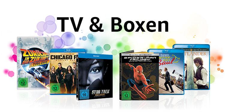TV-Serien und Boxen
